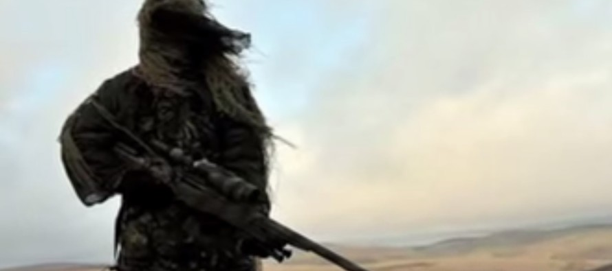 Veteran SNIPER Sends 5 ISIS Terrorists To Their Maker With JUST 3 Bullets, To Save Civilians!