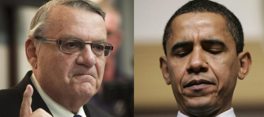 Sheriff Arpaio STAND: Executive Order or Not, 'I'm Not Surrendering the Guns'