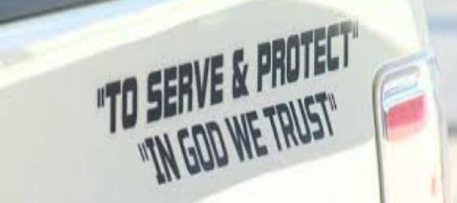 BREAKING: Court Rules That 'In God We Trust' Belongs on Cop Cars