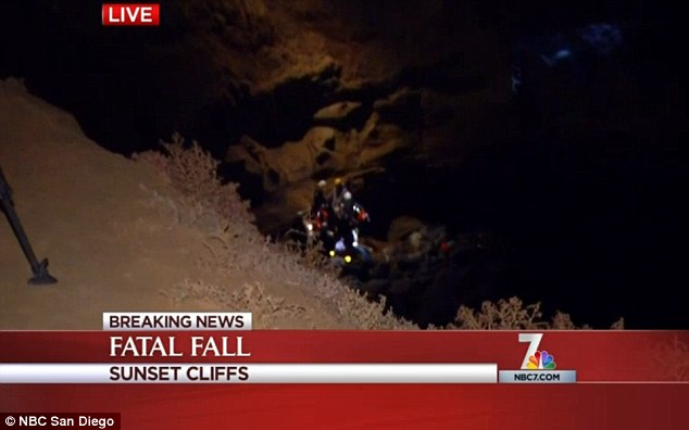 The victim was in his thirties and plummeted 60 feet, according to local media.