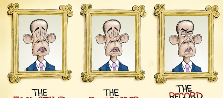 Leaving His Mark (Cartoon)