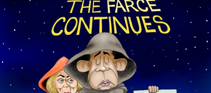The Farce Is With Us (Cartoon)