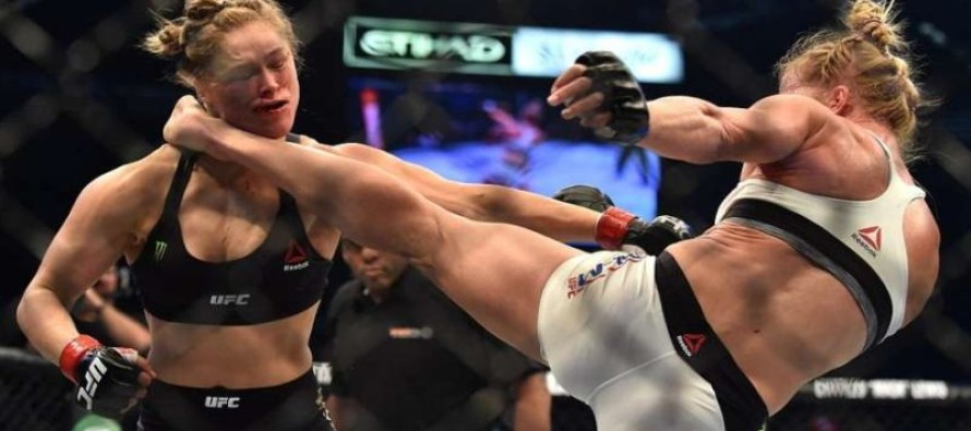 Ronda Rousey was hurt so badly by Holly Holm that she says it may be 6 months before she can do this