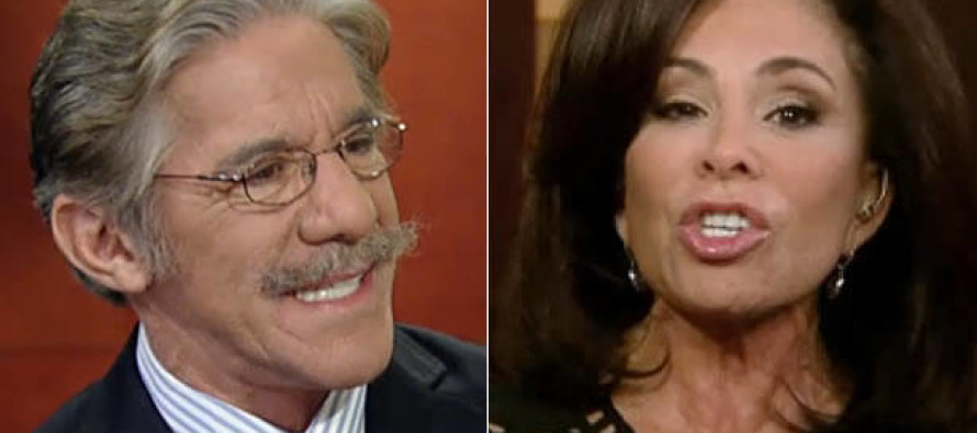 "Bam! Judge Jeanine Pirro SLAMS Geraldo Rivera: ""It's Called the Second Amendment!"""
