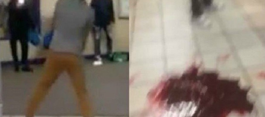 London Subway is Rocked as Terrorist with Knife Attacks While Shouting 'This is For Syria'