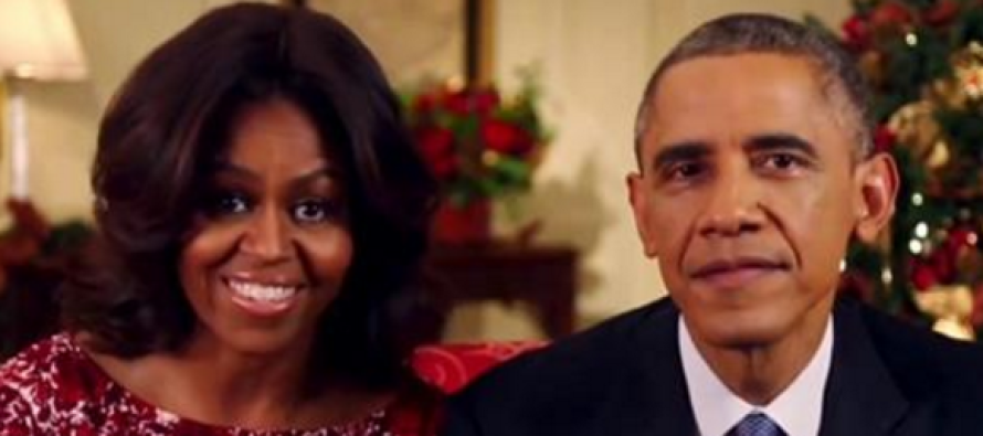 BREAKING: The Obamas Make Sickening Announcement About Christmas
