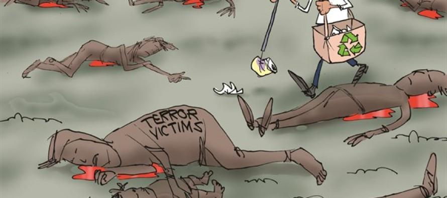 Litter Over Terror (Cartoon)