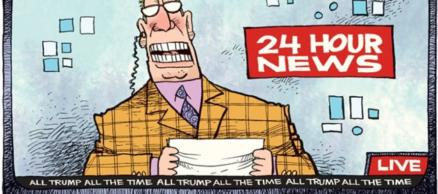 All Trump News (Cartoon)