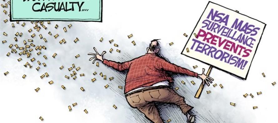 Terrorism Victim (Cartoon)