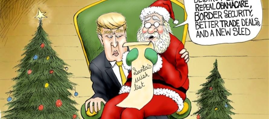 Santa's Wish List (Cartoon)