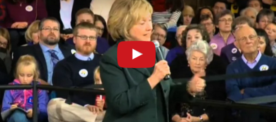 Hillary Accidentally Just Admitted THIS on Camera… [VIDEO]