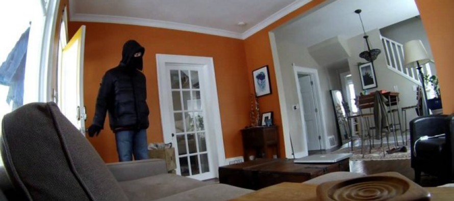 Thug Invades Home… Gets TAKEN DOWN By Mom With Gun
