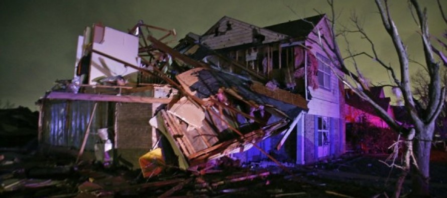 PHOTOS: Monstrous Tornado Sweeps Through Texas Killing 11, Injuring 38 – Snow Next