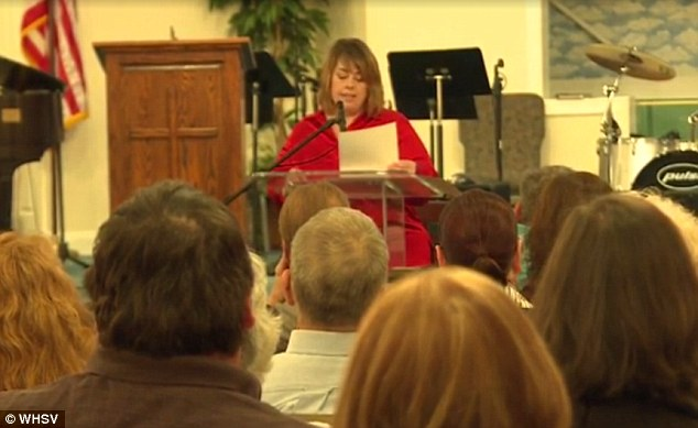 Herndon, who is a devout Christian, hosted a public forum to discuss the incident and called for the firing of Riverheads teacher Cheryl LaPorte.