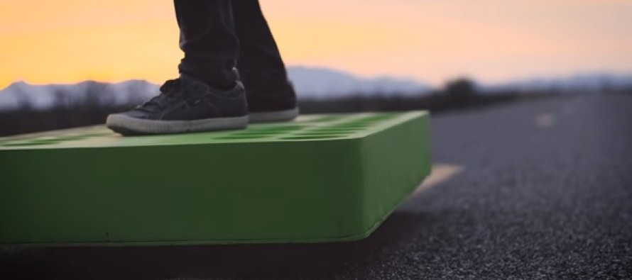This Real Hoverboard Can Be Yours If You Have $20,000 To Experiment With