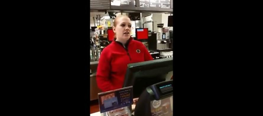 McDonald's Employee Breaks Down Over Stranger's Surprise