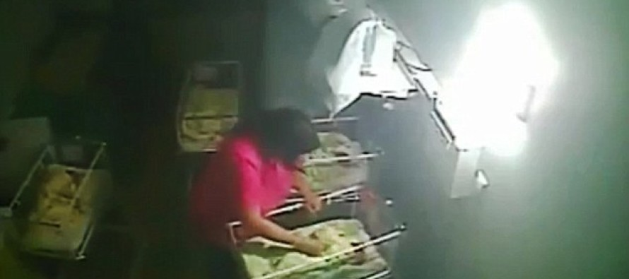Midwife Filmed Beating, Biting A Four-Day-Old Baby Girl After Her Crying Woke Other Babies Up
