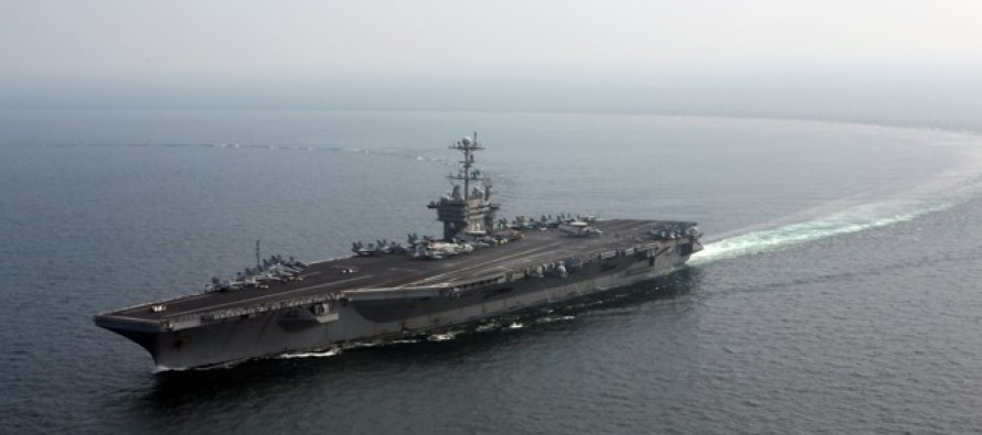 23 SECOND WARNING THEN… Iranian Navy Craft FIRES Rockets Just Missing U.S. Carrier By 1500 Yards!