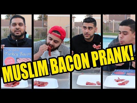bacon prank