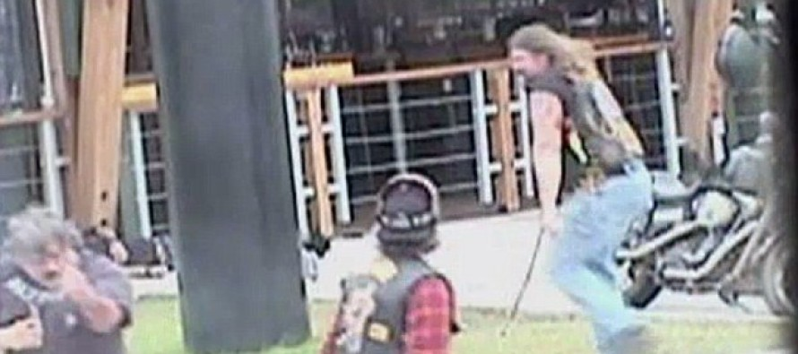 VIDEO: New footage shows biker gangs using chains, fists and guns in fight that killed nine