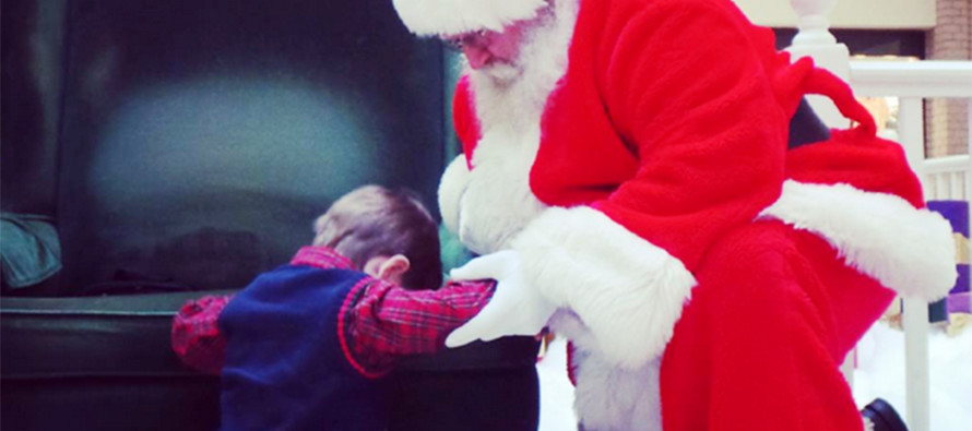 This Little Boy Went to See Santa. What Happened Next? I Have Chills..