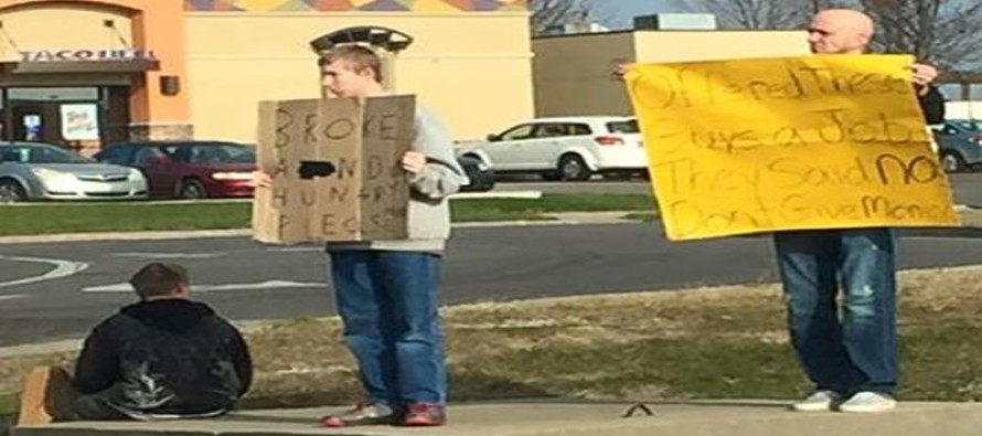 Business Owner Sees Two Men Begging, Then Does THIS [Watch]