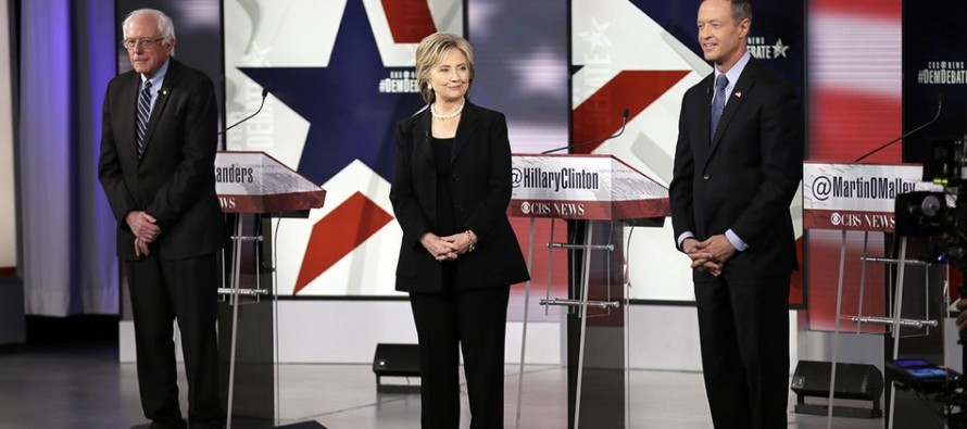 VIDEO: Martin O'Malley Booed At Democrat Debate For Saying This About The Age Of Hillary and Sanders