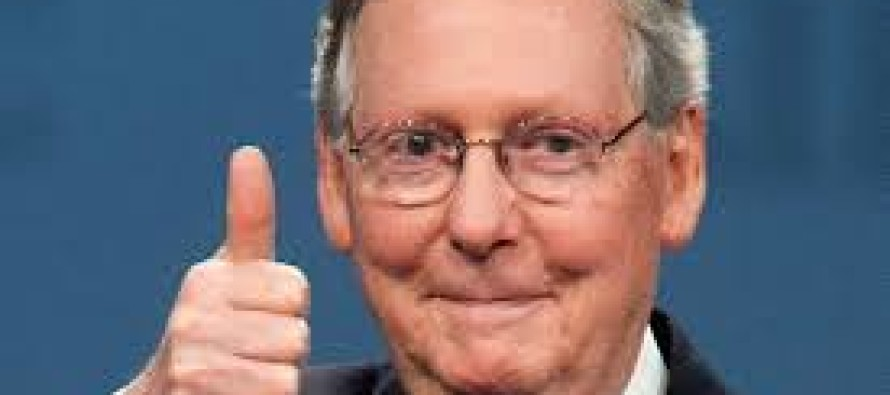 McConnell Says 'I'm Proud of What the New Republican Majority Has Accomplished' WHAT A FOOL!