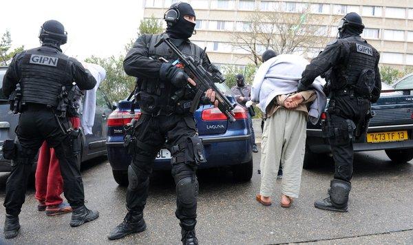 france raids mosque