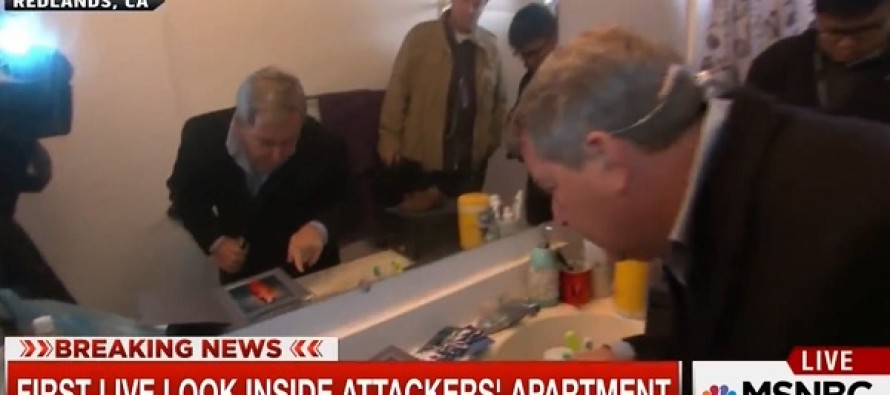 BIZARRE VIDEO: Watch the media invade the home of San Bernardino shooters