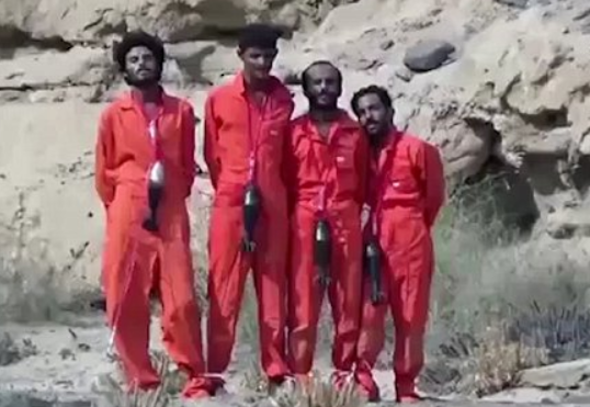 isis mortar necklace execution