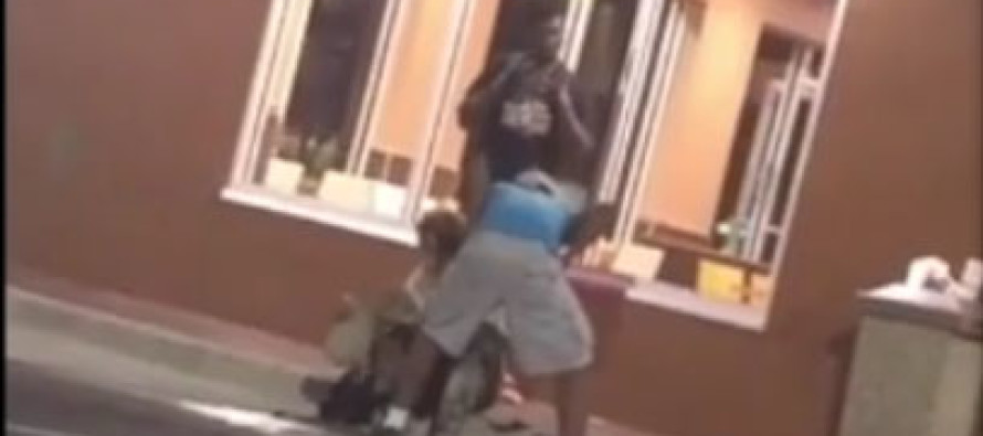VIDEO: Two Thugs Thoughts They'd Beat Up A Homeless Man, And Then This Happened…
