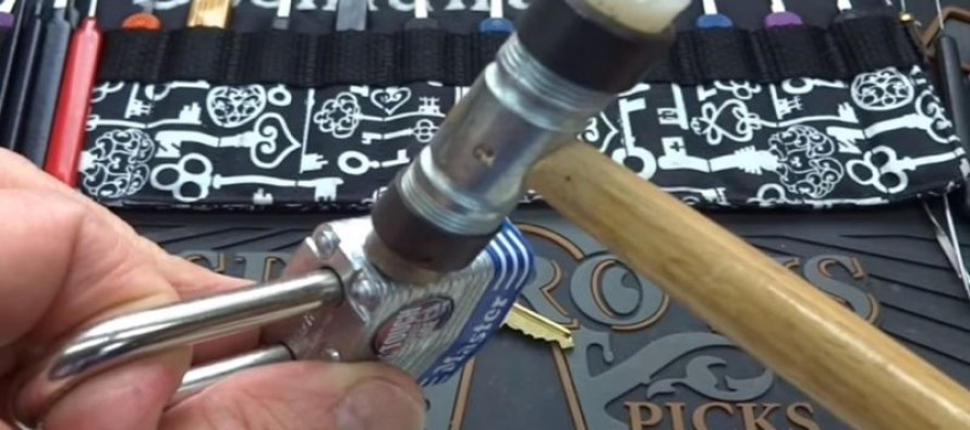 This is How to Open a Master Lock with No Key or Special Tools [Watch]