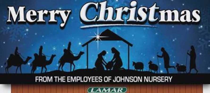 NC man wants his Merry Christmas billboards to go viral