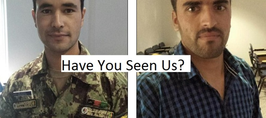 PICTURED: Two Afghan Air Force trainees hunted by Homeland Security after they vanished from U.S. military base in Georgia