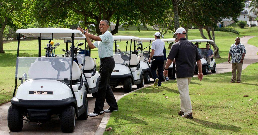 obama-golf-cart