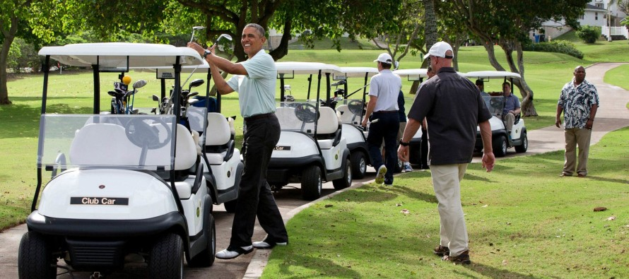 OUTRAGE At New Report: Obama's Vacation Expenses EXCEED $8 Million!