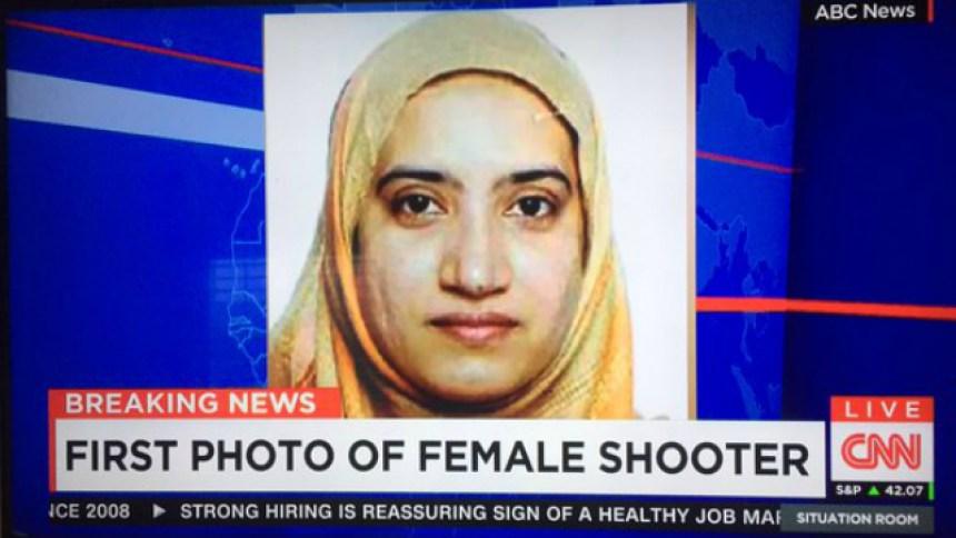 san bernardino female killer without burka