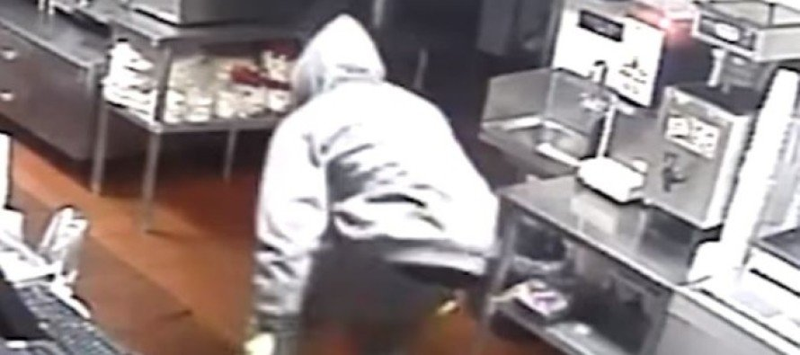 Robbery surveillance video of taco joint turned into awesome commercial
