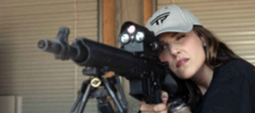 American Sniper Widow Taya Kyle Beats Champion Marksman At Charity Shootout