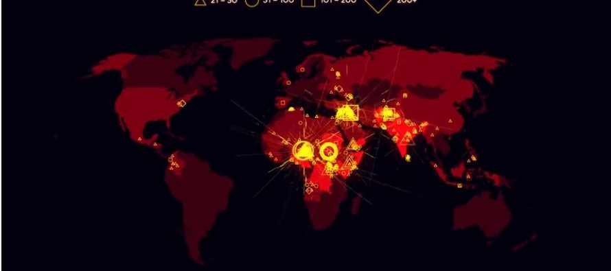 VIDEO: Here's A Terror Time-Lapse Map Showing All The Incidents With 20 Or More Victims Since 2000
