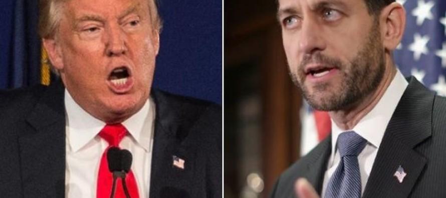 "Trump: ""Speaker Ryan Is A Coward"" for Passing Omnibus Bill [Read]"