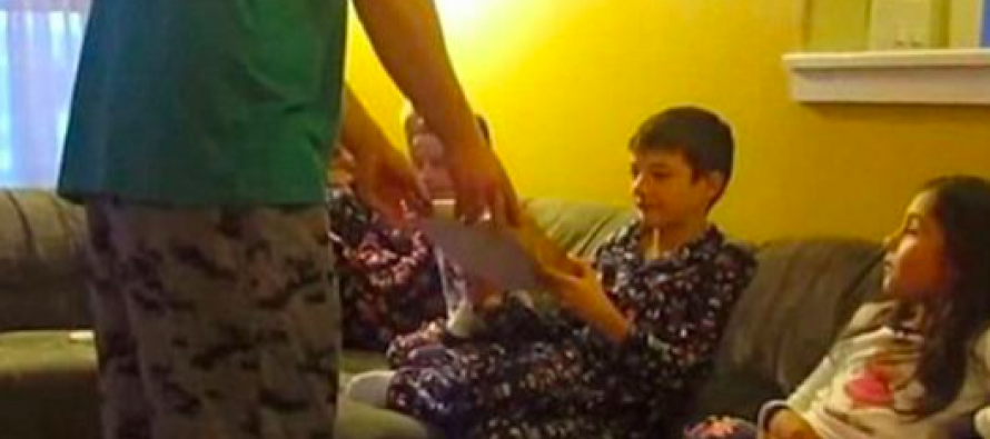 This Kid Received The Best Christmas Present Ever And His Reaction Is Priceless