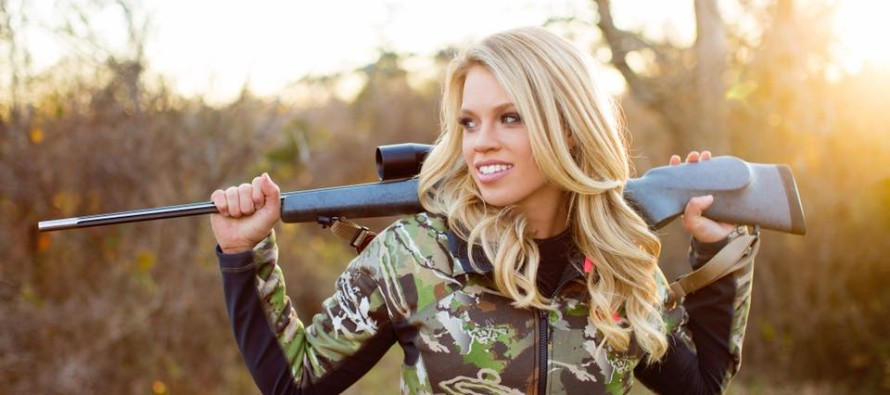 Huntress Beauty Strikes Back At LIBERALS Guns 'A Blazing With THIS Picture…