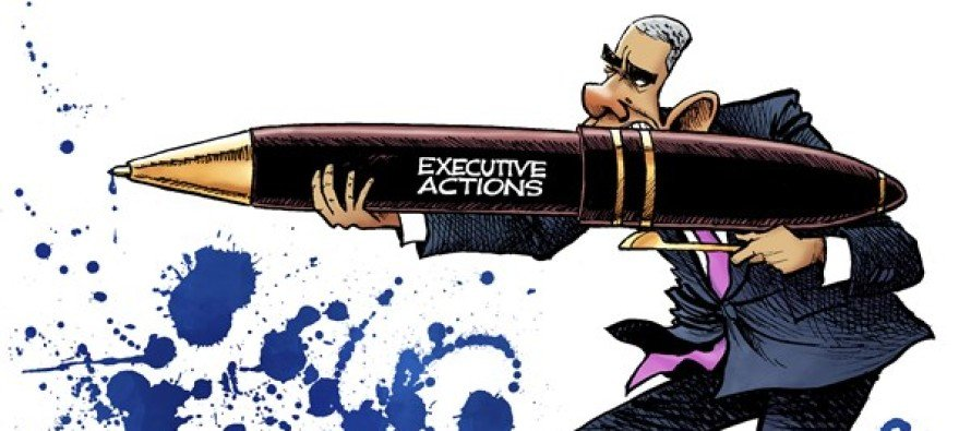 Obama Shoots (Cartoon)