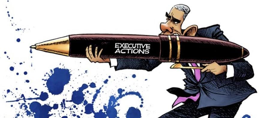 Obama Shoots (Cartoon)