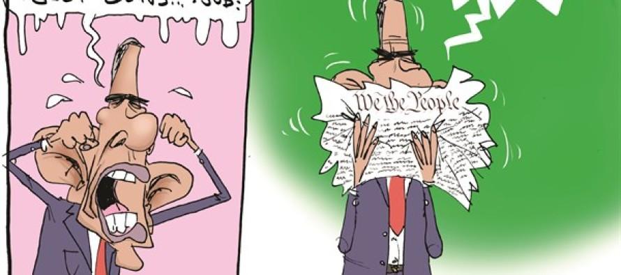 Obama's Kleenex (Cartoon)