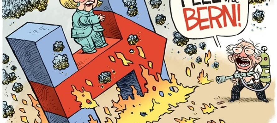 Feel the Bern (Cartoon)
