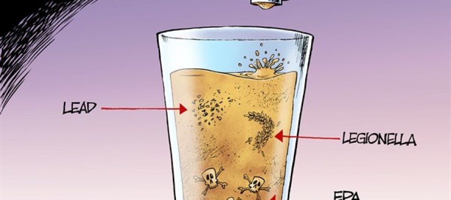 Toxic Water (Cartoon)