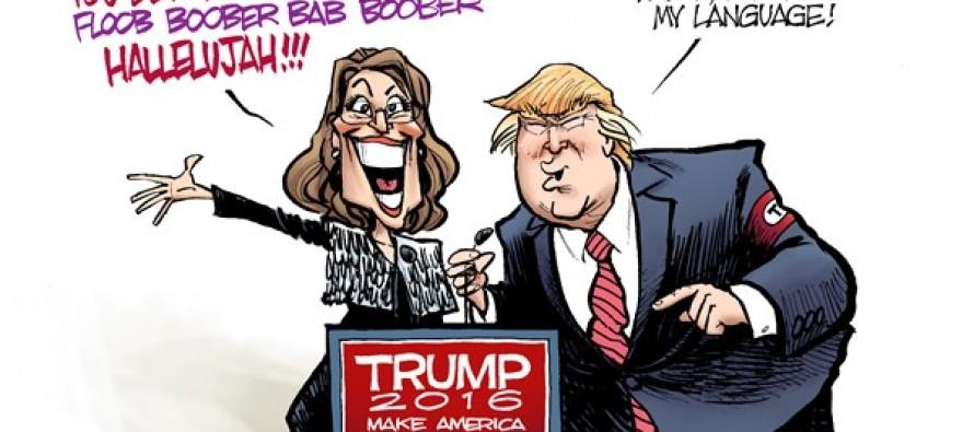 Palin Endorsement (Cartoon)